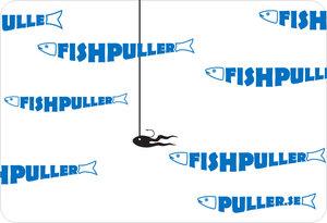 """US-91 - Fish Puller - Kompl snabbfäste för """"grabbräcke""""."""